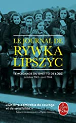 Le Journal de Rywka Lipszyc de Rywka Lipszyc