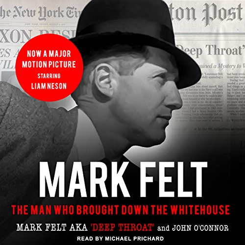 Mark Felt audiobook cover art