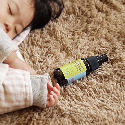 babybuba(ベビーブーバ)オーガニックベビーオイルしっとり保湿プッシュ式ノズルベビーマッサージベビースキンケアリラックス効果日本産(新生児から使える)