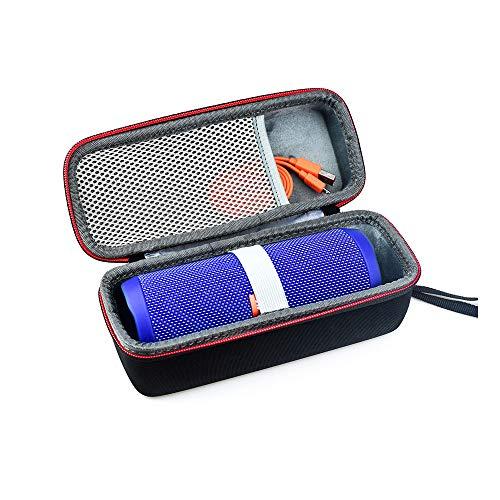Linghuang harde beschermhoes voor JBL Charge 3 luidspreker draagbaar waterdicht met nettas voor kabels