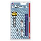 Maglite Mini Incandescent 2-Cell AAA Flashlight, Purple