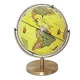 Globo de escritorio, globo de playa, rotación universal, interactiva, educativa, giratoria, globo de escritorio, decoración para el hogar, oficina, escritorio, regalo para niños y aprendizaje