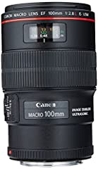 Lens construction consists of 15 elements in 12 groups 23.4-Degree diagonal angle of view Inner focusing system with USM and full-time manual focus option. Closest focusing distance 0.99 ft./0.3m (maximum close-up magnification: 1x) 67 millimetre fil...
