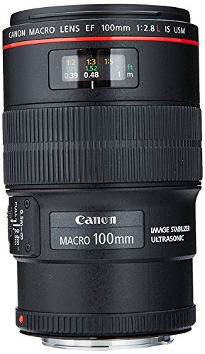 Canon EF 100mm f/2.8L IS USM Macro Lens for Canon Digital SLR Cameras, Lens Only