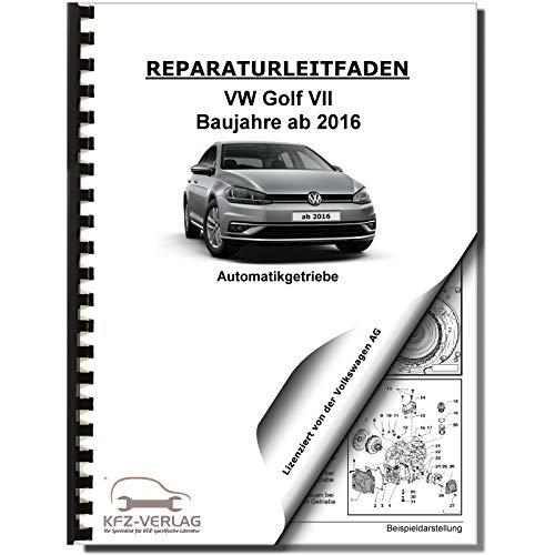 VW Golf 7 5G/AU (16>) 7 Gang Automatikgetriebe DSG DKG 0GC Reparaturanleitung
