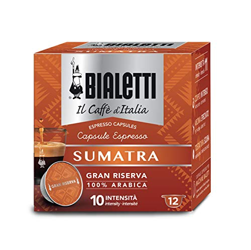 Bialetti Gran Riserva Sumatra - 12 capsule