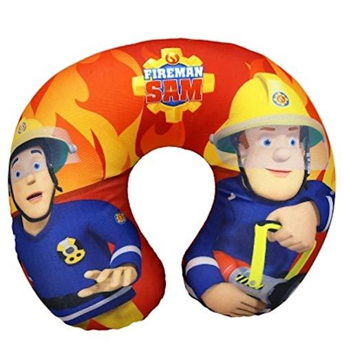 Feuerwehrmann-Sam Kinder Nacken-Kissen Reise-Kissen Nackenhörnchen
