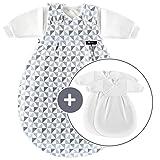 Alvi Baby Mäxchen Original/Ganzjahres Baby-Schlafsack - 3-tlg. mit...