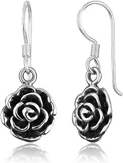 Best dangle flower earrings Reviews