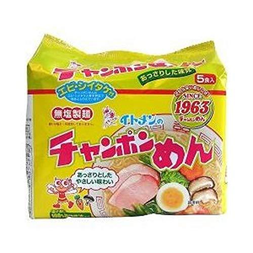 イトメン チャンポンめん 100g 5食パック×3個