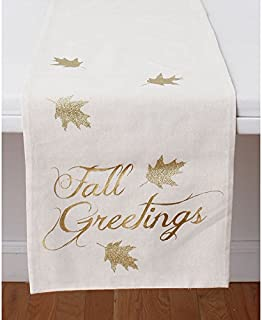 Thro by Marlo Lorenz Fall Greetings Table Runner- 72 in.