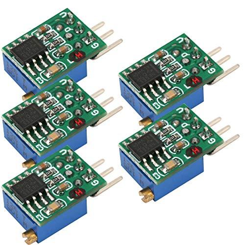 5pcs SG55A01 C Módulo Generador de Señal Ajustable de Onda Cuadrada de Frecuencia, Placa Generadora de Función Tipo H, un Condensador de Filtro de Potencia de 0.1UF, con Buen Rendimiento