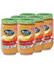 Hero Baby - Tarrito de Arroz con Pollo para bebés a partir de 6 meses Pack de 6 x 235 g