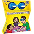 The UpsideDownChallenge Game for Kids & Family - Complete Fun Challenges with Upside Down Goggles - Hilarious Game for Game Night and Parties - Ages 8+