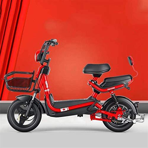 Bicicletas Eléctricas, Adultos Mejora el Scooter eléctrico, 48V 350W, Pantalla de la...
