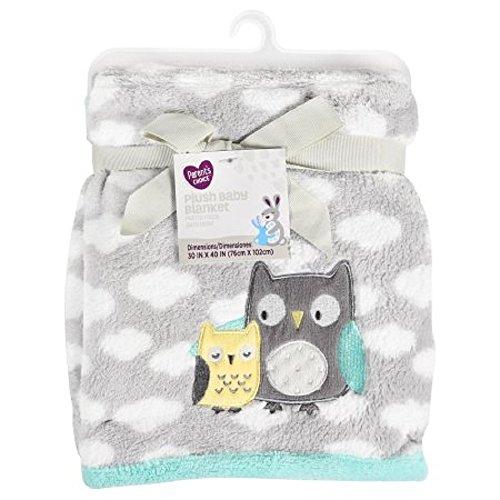 Parent's Choice Plush Baby Blanket, Owl