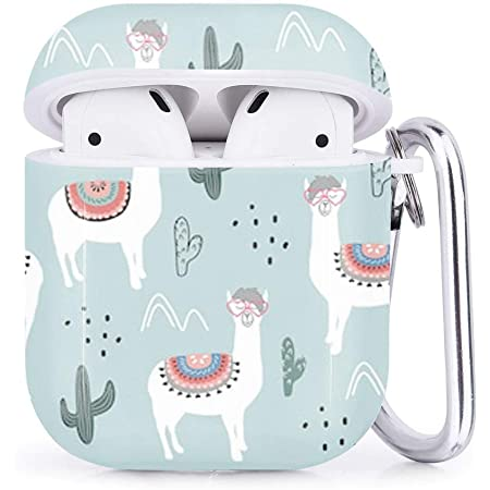 AirPods Case Fits Charging Case Llama