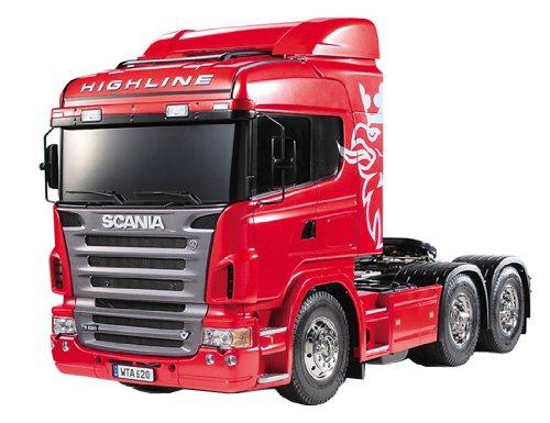 Tamiya - 300056323 - La Veicoli - Camion Scania R620 Highline Charger - 3Achs - 1:14 - Motore Elettrico