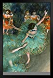 Edgar Degas Poster The Green Dancer 1879, französischer