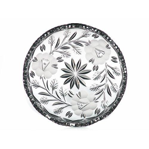 Teller Kuchenteller Tortenteller Simona Transparent D 16 cm Kristall