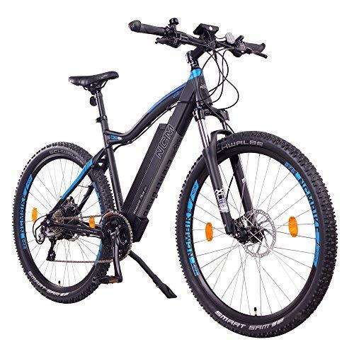 NCM Moscow Plus Bicicletta elettrica da Trekking, 250W, Batteria 48V 16Ah 768Wh 27,5' Nero