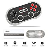 8Bitdo F30 Pro Mando, Bluetooth Gamepad para Android/iOS(Solo Modo ICADE) / MacOS/Windows