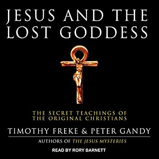 Jesus and the Lost Goddess audiobook cover art