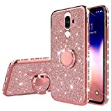 Surakey Compatible with Huawei Mate 9 Case Bling Shockproof