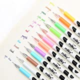 12 Colors Creative Cute Milk Cow Pen Colorful Gel Pen Sweet-style Design Pin Type Ink Pen for Children Student and Office, Kids Girls Children Students Teens Gifts set of 12 Assorted Colors