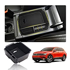 ►Precise fit for 2018 2019 2020 Tiguan SEL, drop-in installation, no modification or cutting/drilling / screws required, directly install. ►High quality ABS material, resists from rust and extreme conditions. ►Place small items on the secondary field...