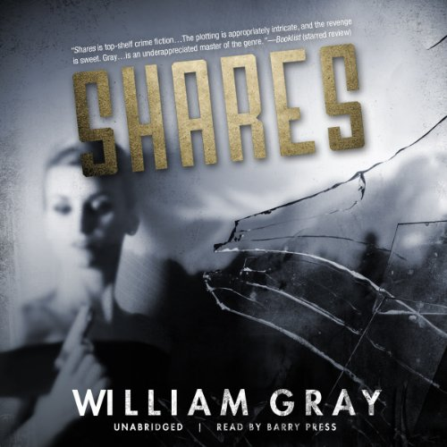 Shares audiobook cover art