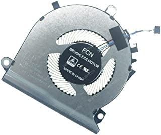 BZBYCZH Laptop CPU Cooling Fan 5V 0.5A 4PIN Compatible for HP Pavilion Gaming 15-EC L77560-001