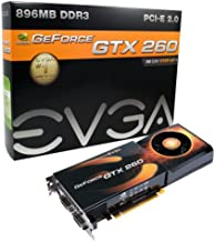 EVGA 896-P3-1260-AR e-GeForce GTX260 896MB DDR3 PCI Express 2.0 Graphics Card