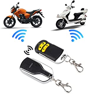 RONSHIN Cars Electronics Accessories, 12V Scooter Car Motorcycle Alarm System Lock Motorbike Anti Theft Horn Alarm Warner Security System