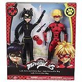 Bandai– Miraculous Ladybug– 2er Packung Ankleidepuppen Poupeflekta 26cm– Mister Bug...