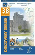 Discovery 38 Galway Mayo (South Central) (Irish Discovery Series) by Ordnance Survey Ireland (Folded Map, 2 Jul 2011) Paperback