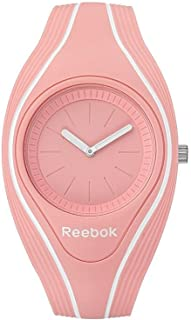Reebok Women's Pink Dial Silicone Band Watch - Rf-Rse-L2-Pqiq-Qw, Analog Display, Quartz Movement