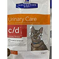 HILL'S PRESCRIPTION DIET Feline C/D Stress Urinary Care Dry Cat Food Chicken Flavour 1.5kg