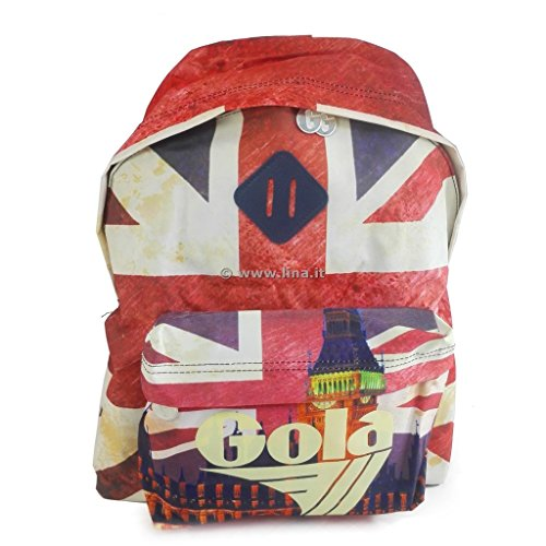 Gola Rucksack Schule Harlow Big Ben Union Jack–cub753ec