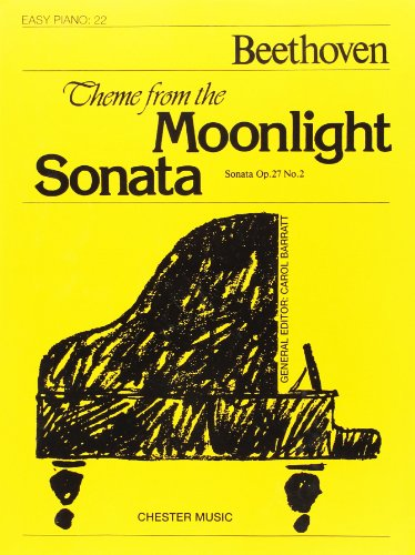 Easy Piano 22: Moonlight Sonata (Theme From Moonlight Sonata): Noten für Klavier