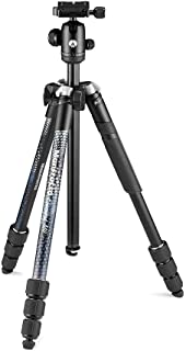 Manfrotto Element MII Kamera  und Handystativ, Aluminium Reisestativ mit Kugelkopf und Bluetooth, für Smartphones, DSLR, CSC und Kompaktkameras, Fotozubehör, Content Creation, Video Blogs