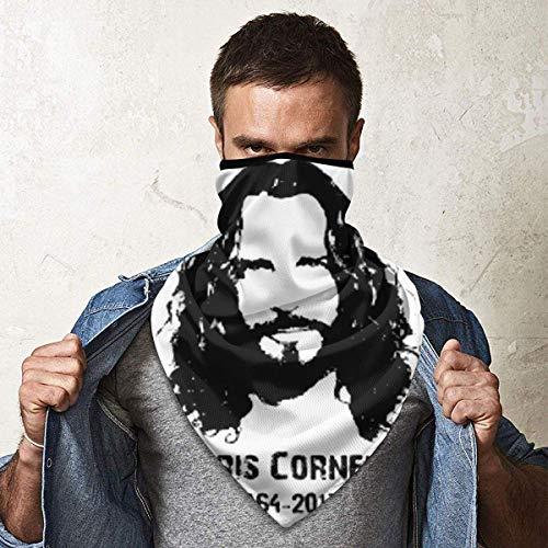 Chris Cornell 1964-2017 - Máscara facial para el sol, resistente al viento, para esquí, snowboard, motociclismo, deportes de invierno para hombres y mujeres
