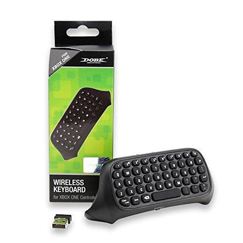 Althemax fili Chatpad tastiera della tastiera di controllo per XBOX un controller Messenger - Nero
