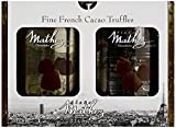 2x500g Chocolat Mathez Fine French Cocao Powdered Chocolate Truffles Fantaisie