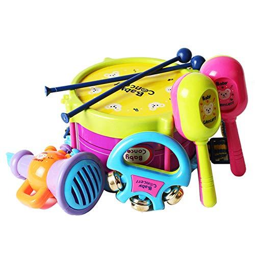 MeterMall 5 teile / satz Baby Drum Set Baby Kinder Trommel Musikinstrumente Band Kit P?dagogisches Spielzeug
