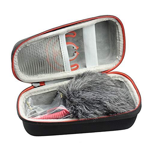 AONKE Hart Reise Fall Case Tasche fur Rode VideoMicro kompakt On Camera Microphone