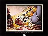 Demons Merveilles Poster Kunstdruck Pinocchio Jimminy