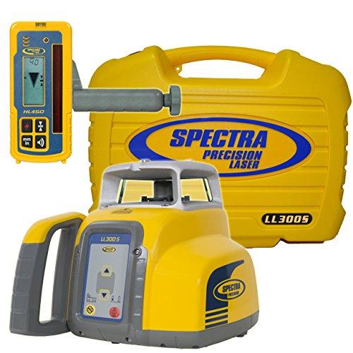 Spectra Precision ll300s-4ll300s nivel láser con hl450–amarillo