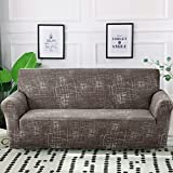 MKQB Funda de sofá elástica elástica, Funda de sofá Modular de Esquina para Sala de Estar, Funda de sofá en Forma de L Antideslizante Envuelto herméticamente NO.13 1seat-S- (90-140cm