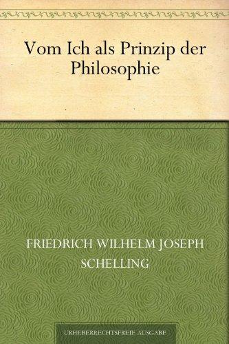 Vom Ich als Prinzip der Philosophie